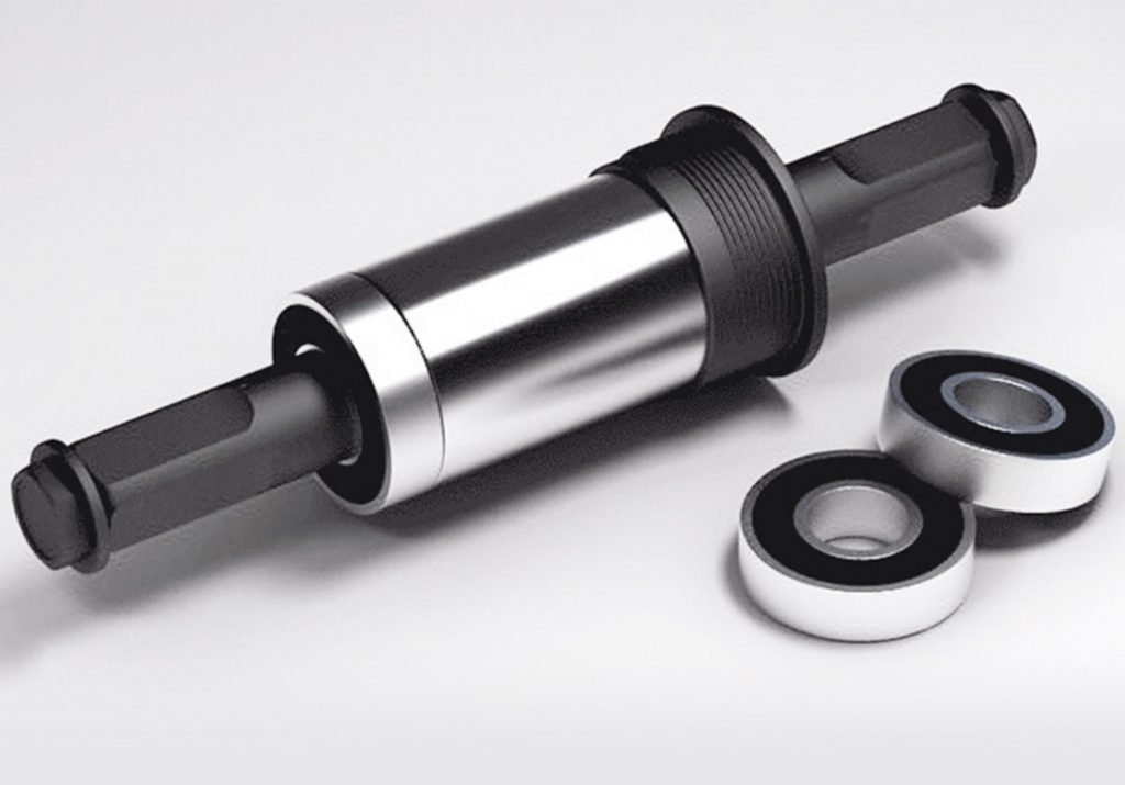 Sealed bearing center shaft, lubricated and waterproof, anti-sand erosion, riding without rattling, saving energy