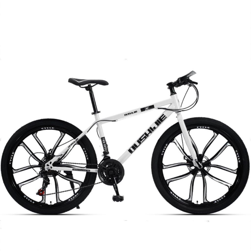 24-inch 26-inch Jaguar white black cutter wheels mountain bike red 21, 24, 27 speed