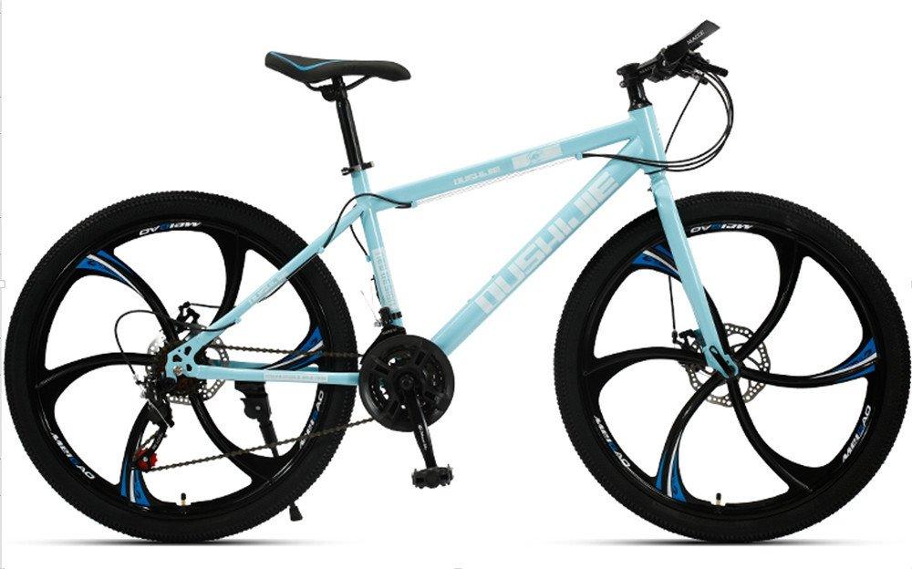 24-inch, 26-inch, Jaugar blue 6 cutter wheels mountain bike 21, 24, 27, 30 speed