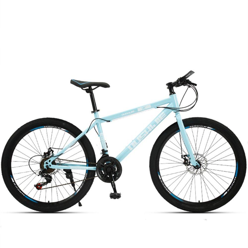 24-inch 26-inch Jaugar spoke wheels mountain bike blue 21, 24, 27 speed