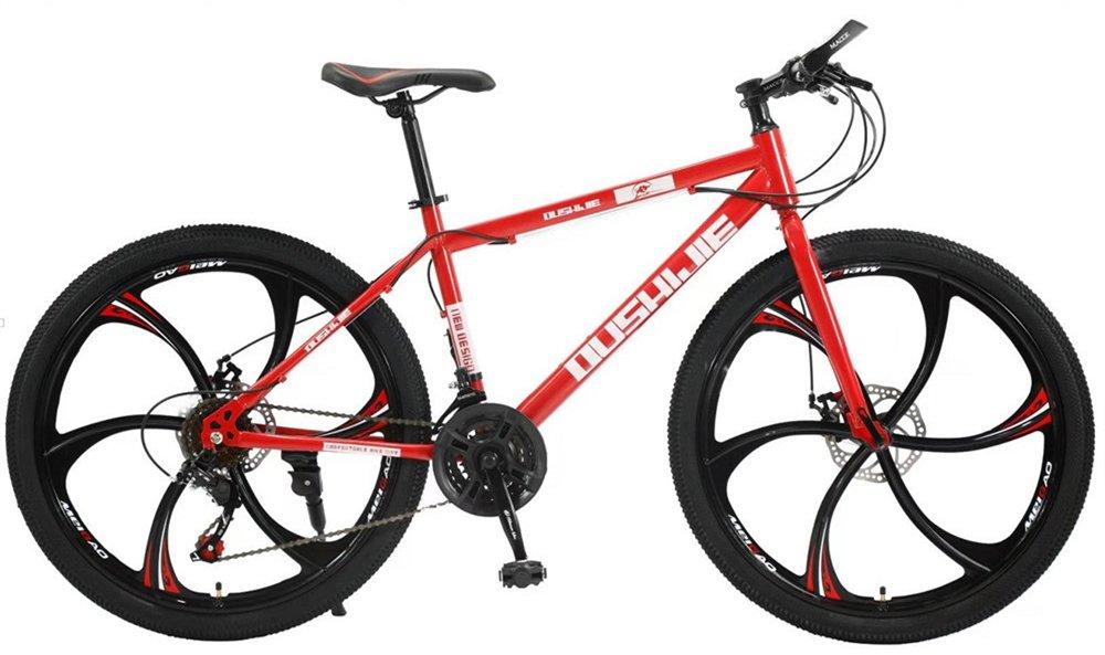 24-inch, 26-inch, Jaugar red 5 cutter wheels mountain bike 21, 24, 27, 30 speed