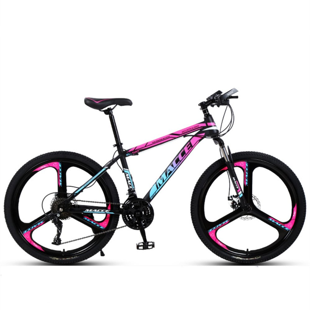 24-inch, 26-inch discovery rose red blue 3 cutter wheels mountain bike