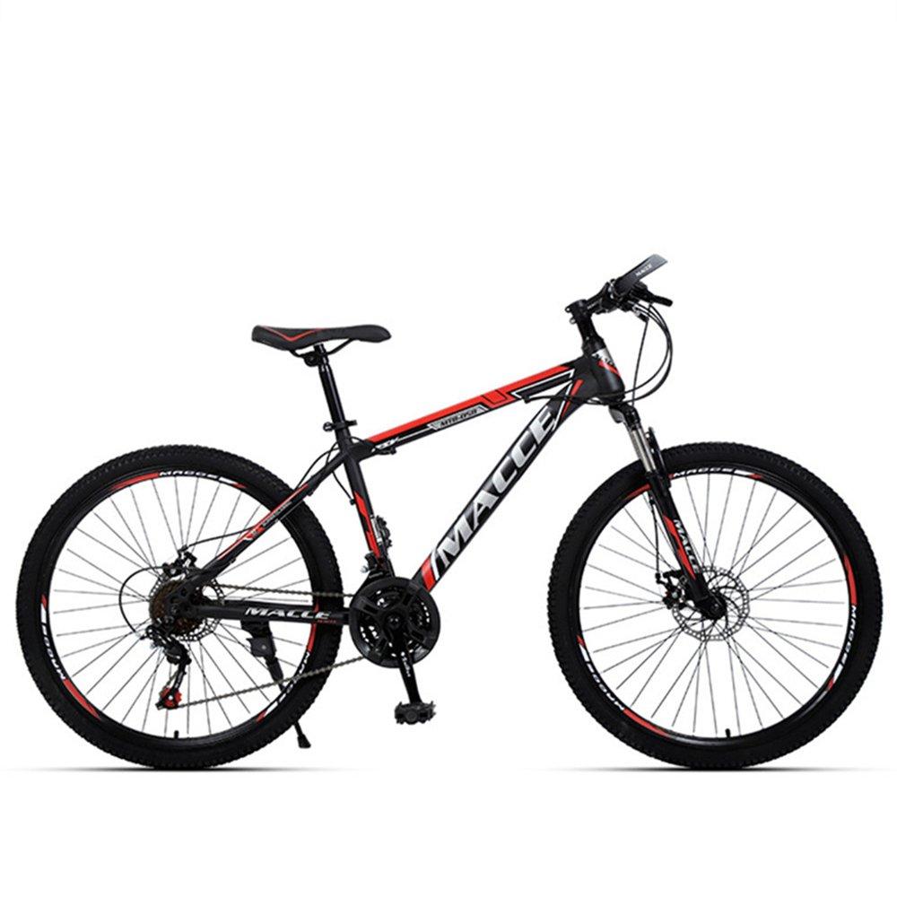 27.5-inch discovery red blue spoke wheels mountain bike 21, 24, 27 speed