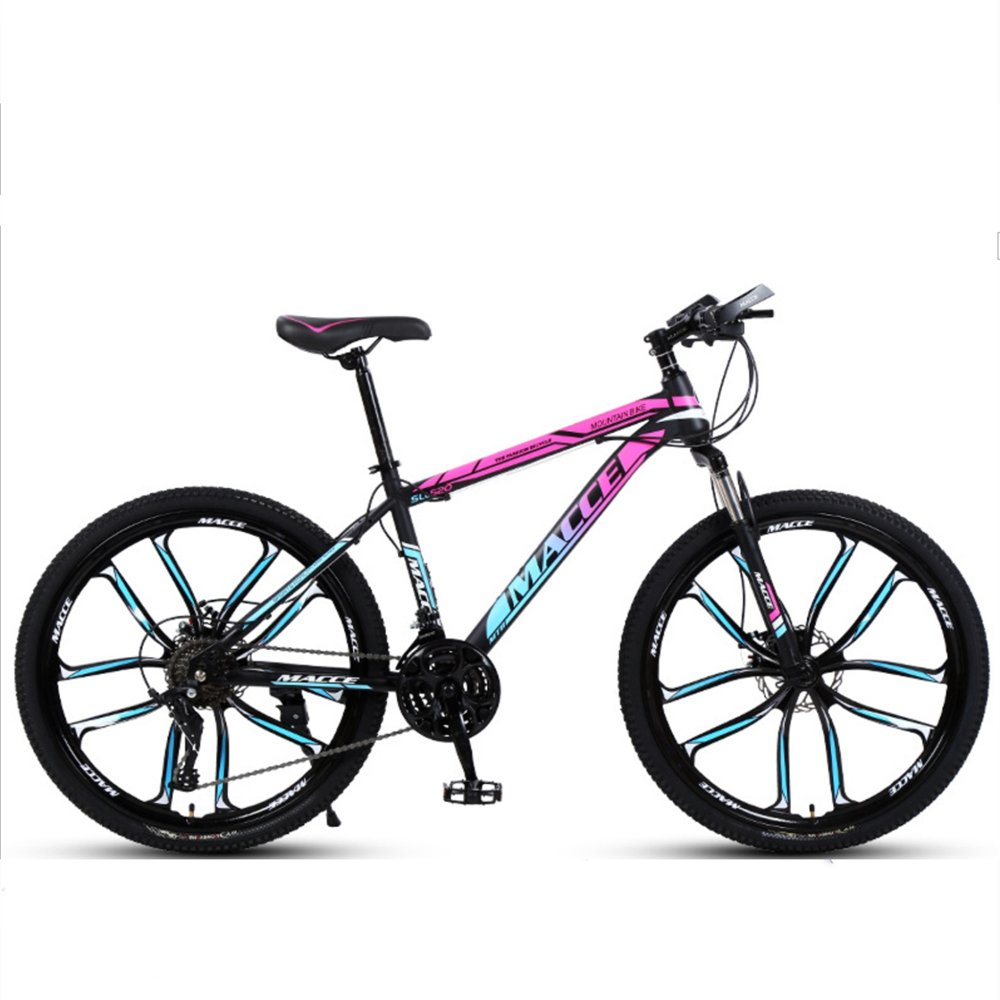 24-inch 26-inch discovery rose red blue 10 cutter wheels mountain bike 21, 24, 27 speed