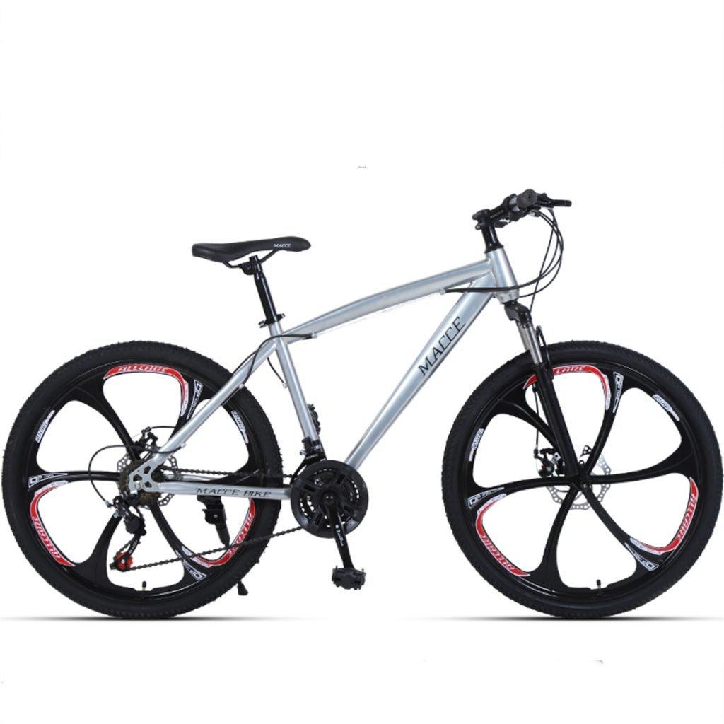 24-inch, 26-inch forest wolf sliver 6 cutter wheels mountain bike 21-speed, 24-speed, 27-speed